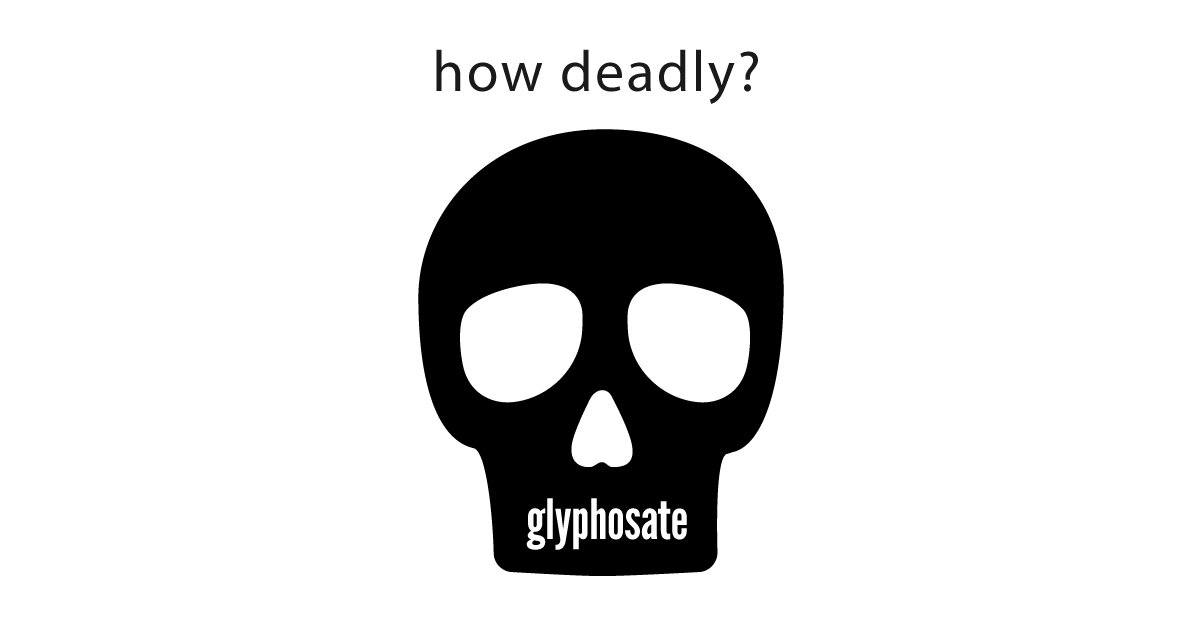 One Table That Shows How Deadly Glyphosate Is